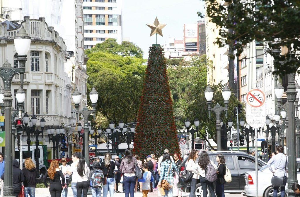 Comerciantes otimistas com as vendas do Natal, segundo pesquisa ACP/DataCenso